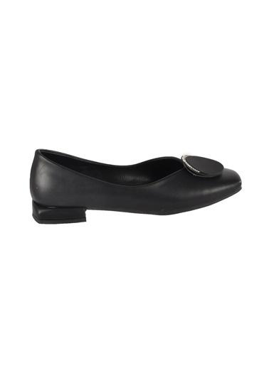 Mhd 148 Kadın Platin Günlük Ayakkabı Siyah